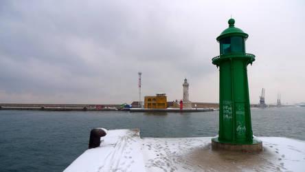 Le phare vert by blackscreen