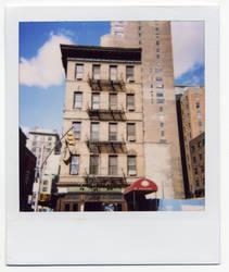 Polaroid building New York by blackscreen