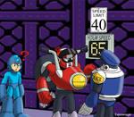 Mega Man 10 Nitro Man Drawing