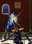 Mega Man 10 Blade Man Drawing