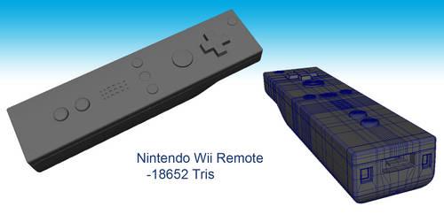 Nintendo Wii Remote by Espiownage