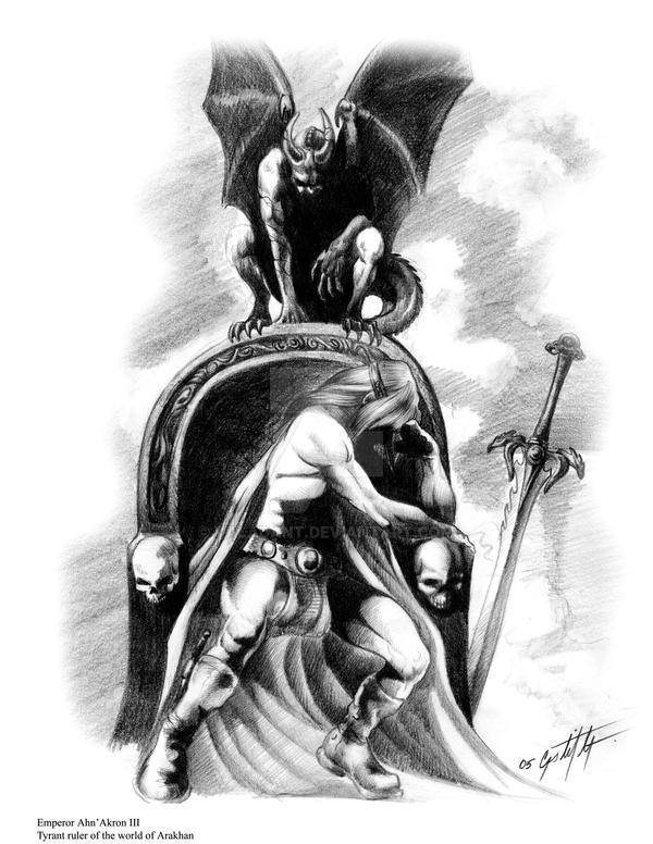 Ahn'Akron III by valadant