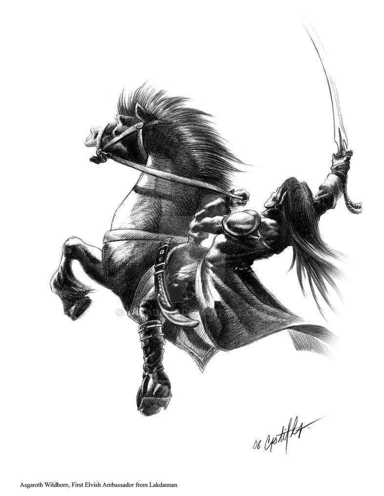Asgaroth Wildhorn by valadant