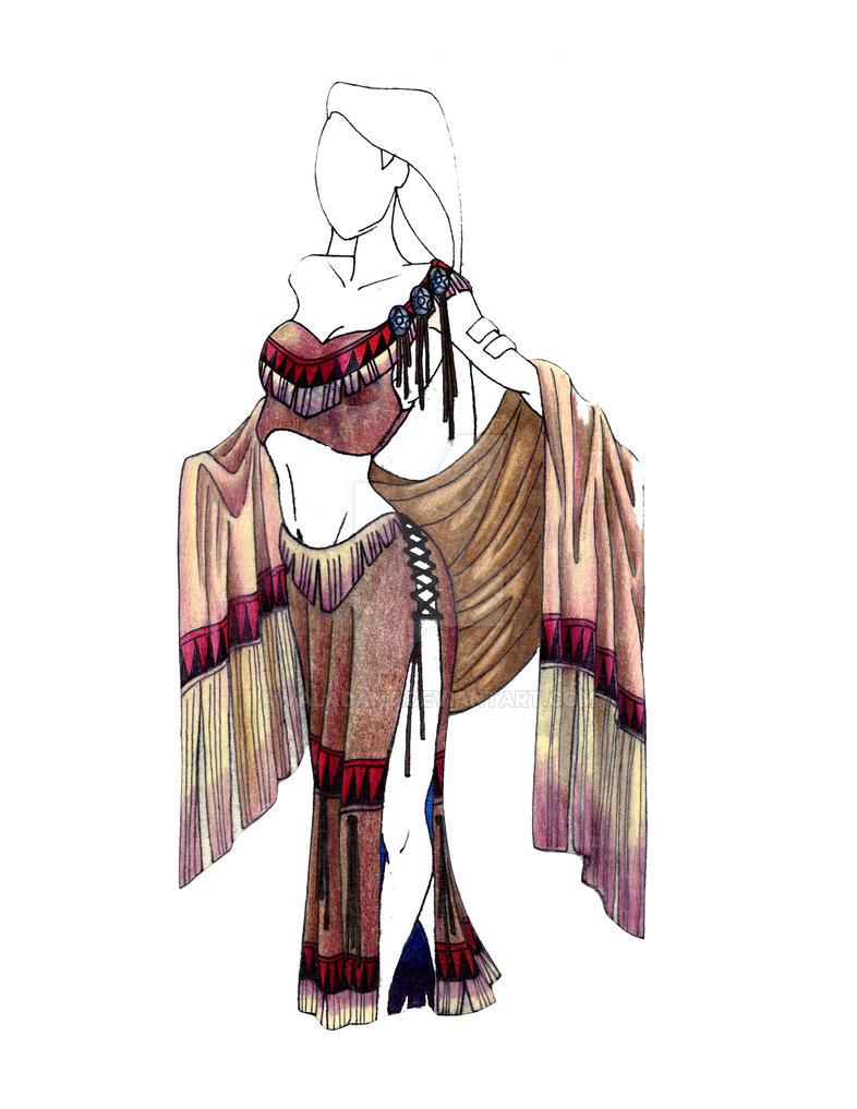 Lakota Night Gown by valadant