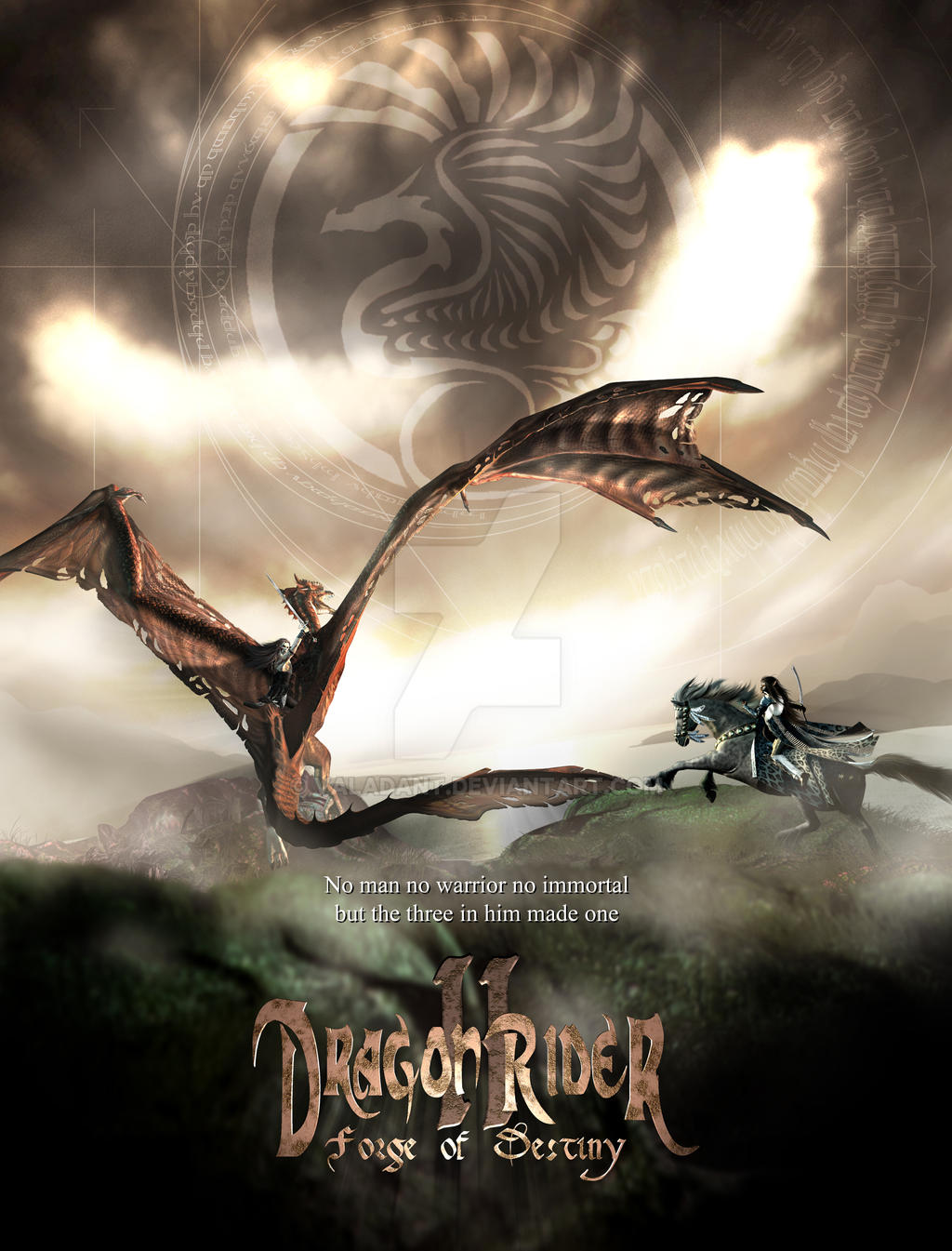 Dragon Rider II by valadant