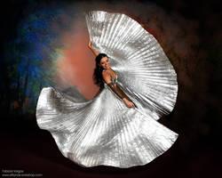Paula Campos Isis Wings by Elfland
