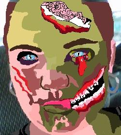 Zombie me by RetsMonster