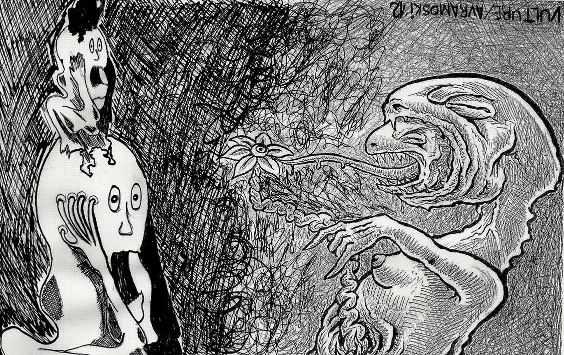 schizophrenic gesture by offermoord on DeviantArt