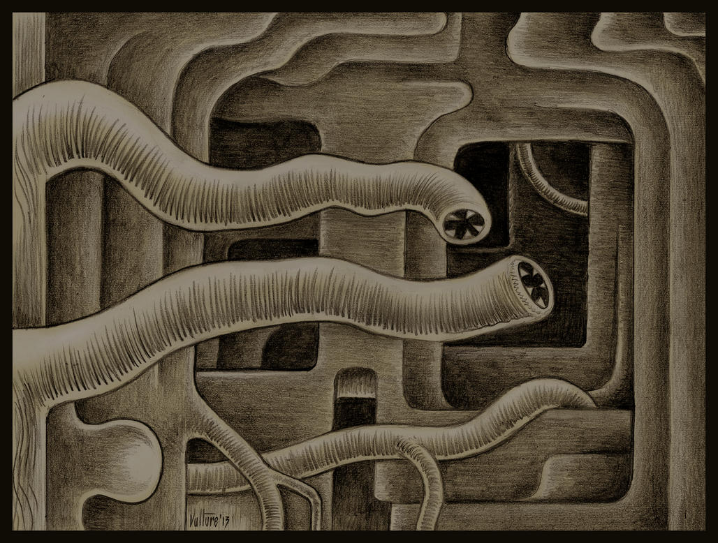 Leech Labyrinth by offermoord