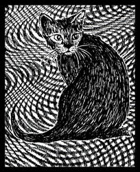 Hypno cat by offermoord