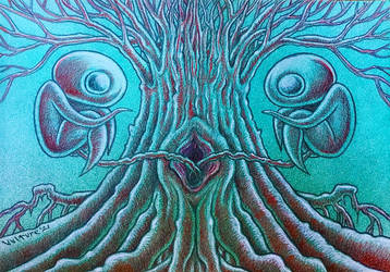Siamese Tree by offermoord