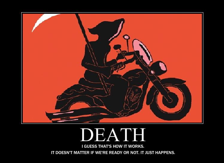 Death Demotivator by Grimful on DeviantArt