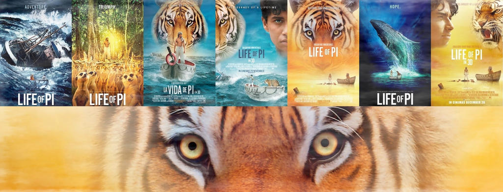 Life of pi facebook timeline cover by luludarling on for Life of pi main character