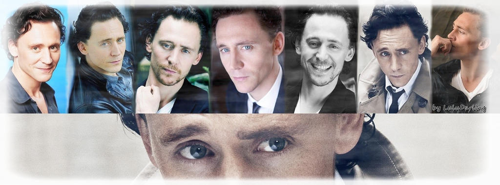 Tom Hiddleston - Photoshoots Facebook Cover No.2. by LuluDarling