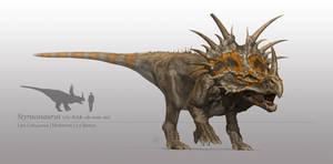 Styracosaurus by sdavis75