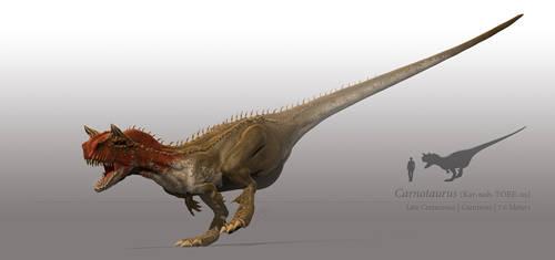 Carnotaurus by sdavis75