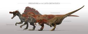 Predators of the Late Cretaceous by sdavis75