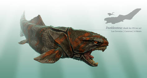 Dunkleosteus by sdavis75