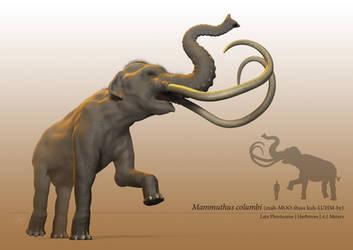 Columbian Mammoth by sdavis75