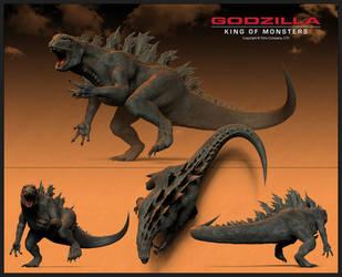Godzilla by sdavis75