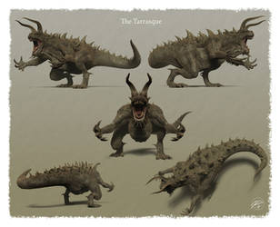 The Tarrasque (Additional Views) by sdavis75