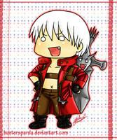 DMC3 Dante chibi by KuroNeko-art