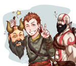 GOW-Father let's take a selfie!~