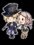 [OCxCanon] Sabo and Raine~