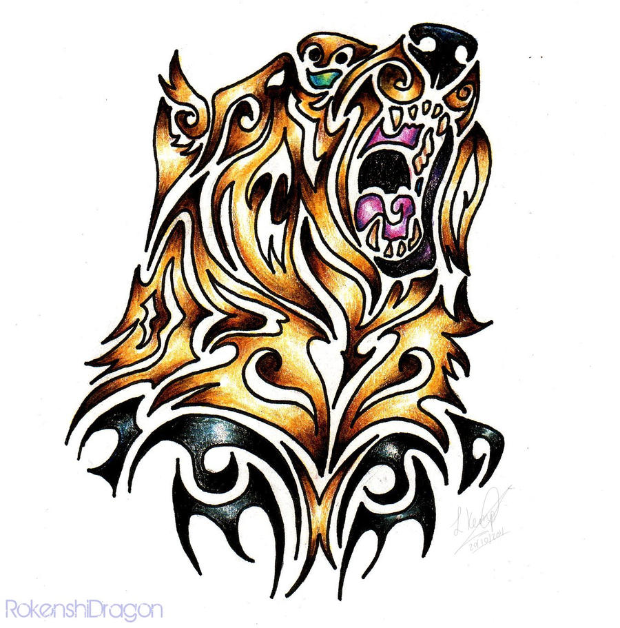 Grizzly Bear Tribal by...