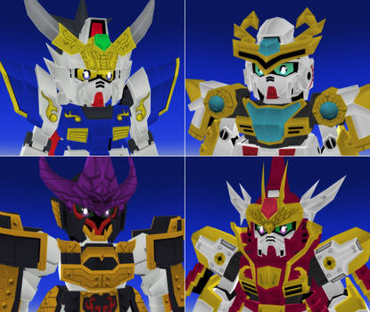 .The Four Warriors.