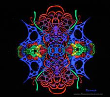 fRACtalik (blacklight art)