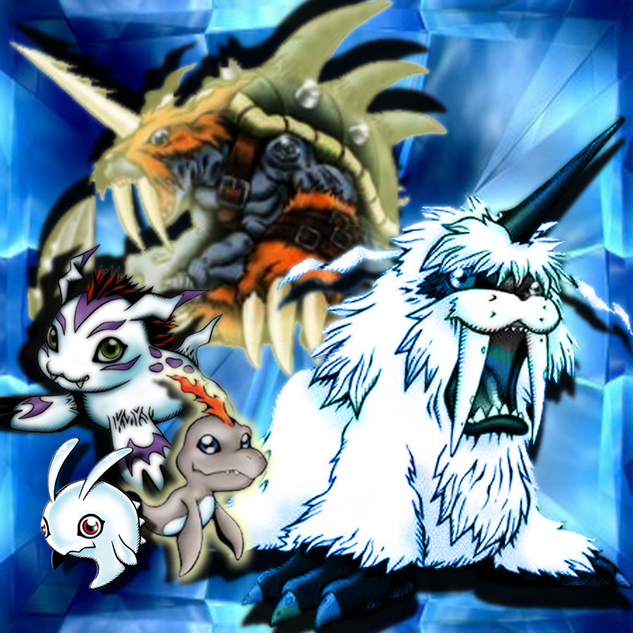 Gomamon Evolution by *KaelinT on deviantART