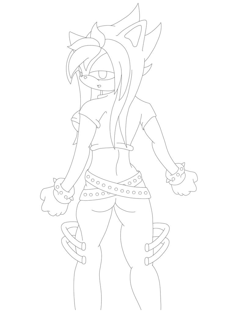 Line Drawing No Shading : Shade glance line by chaoticangel on deviantart