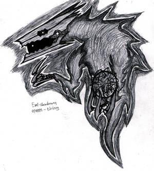 Evil shadowy efreet thing