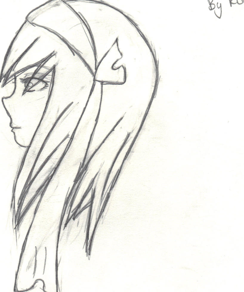 random sideways drawing first by Miku-san96 on DeviantArt