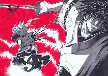 Samurai Deeper Kyo by SandChan