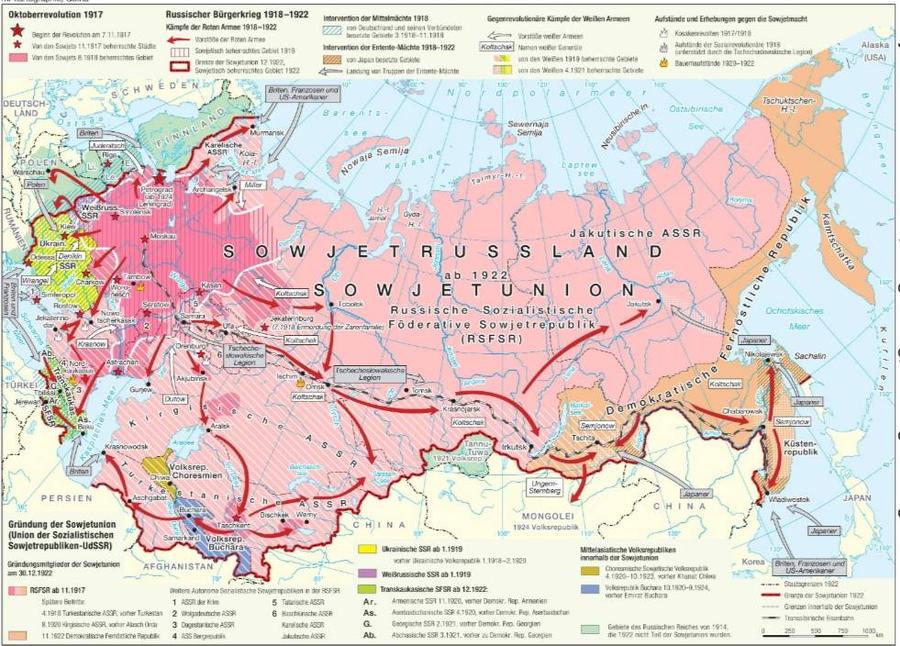 Karte Norwegen D303244nemark.Karte Russland 1917