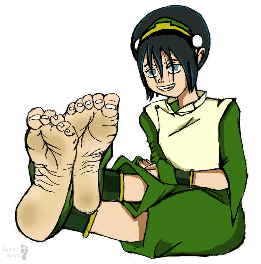 Toph's Feet by Solesartist