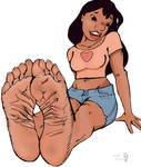 Nani's soles (Lilo and Stitch)