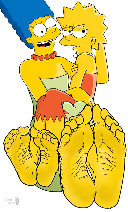The simpsons lisa footjob, amateur pajamas