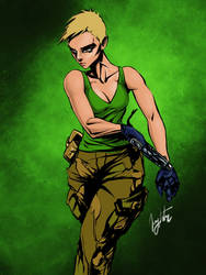 commando by JKatanic