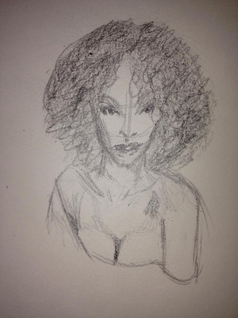 Black Lady Reference by AnUnstoppableForce