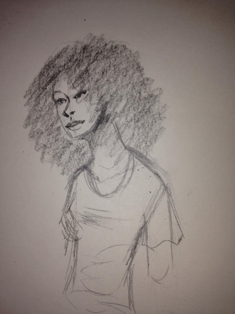 Black Lady Imagination by AnUnstoppableForce