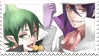AnE:Mephisto and Amaimon Stamp by Leiriope