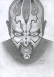 Darth Maul by ka-ka-ra