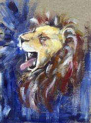 Rawr I am a lion by lassie102