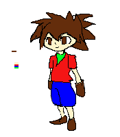 daisuke protype sprite(2) by projectsmash