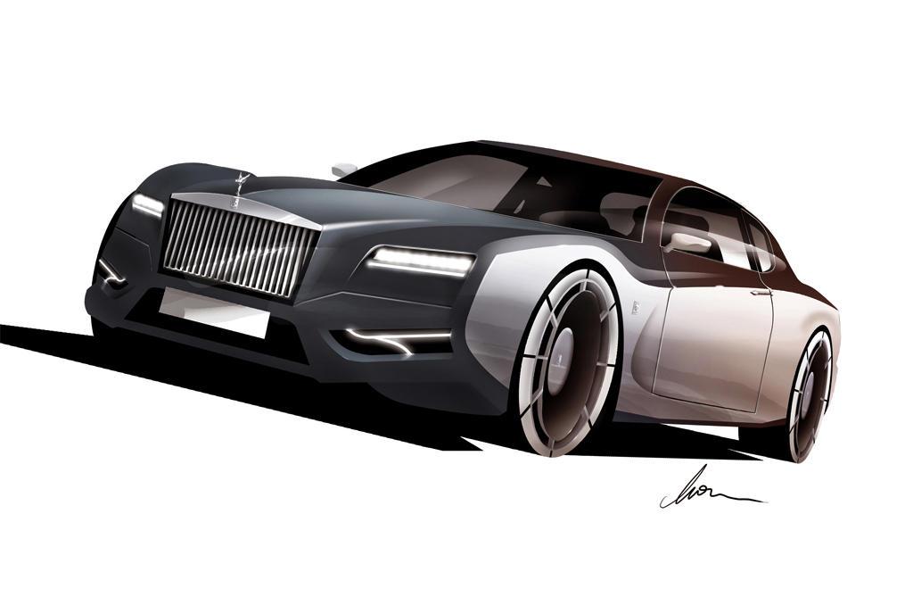 Rolls Royce Silver Cloud GT concept
