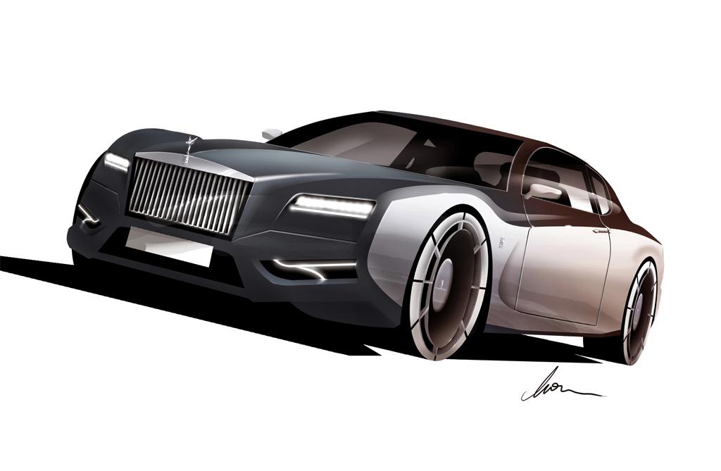 Rolls Royce Silver Cloud GT concept by pietrekm
