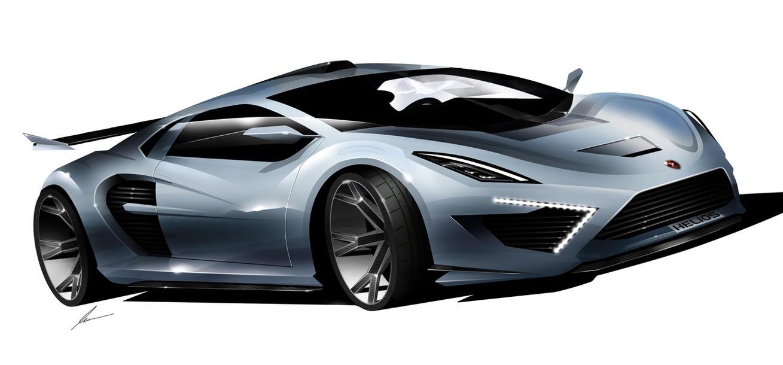 Gumpert Helios Supercar Concept Sketch By Pietrekm On Deviantart